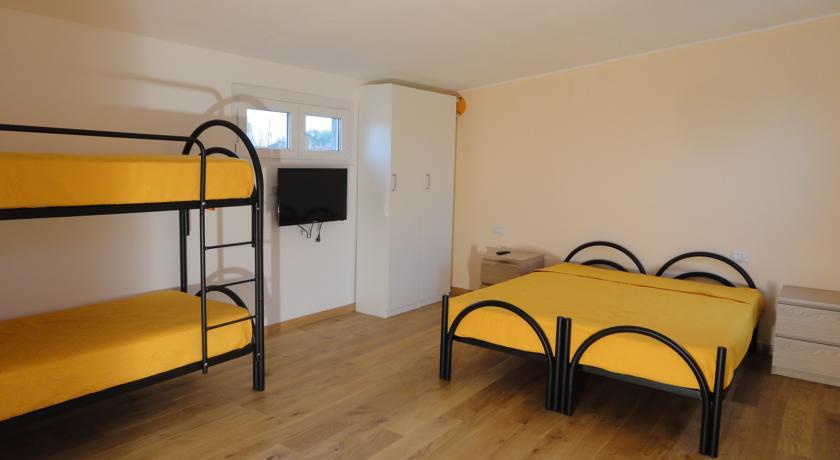 Confortevoli camere condivise e private a Pavia