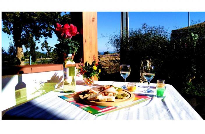 zona aperitivo terrazza