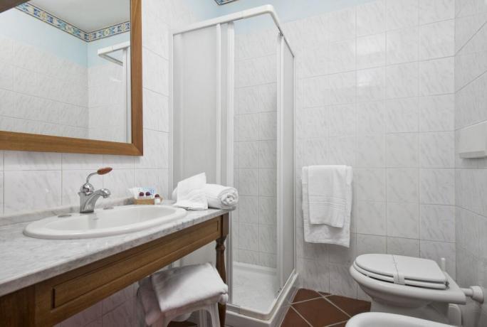Bagni privati in camera degli ospiti