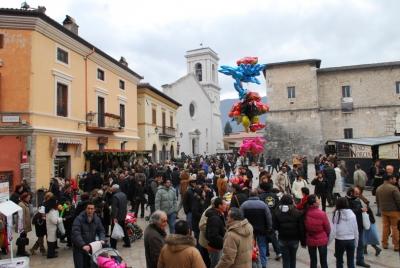 Nero Norcia - Mostra Mercato del tartufo - Piazza