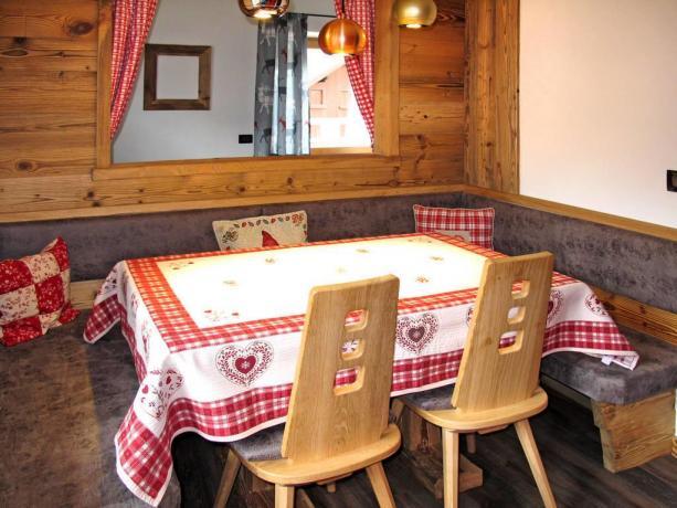 Residence con ristorante con cucina tipica del Trentino