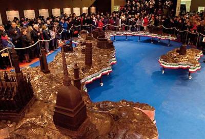 mostra sculture di cioccolato