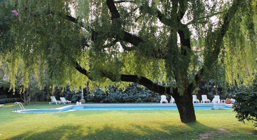 piscina esterna Hotel Arcobaleno Padova Venezia