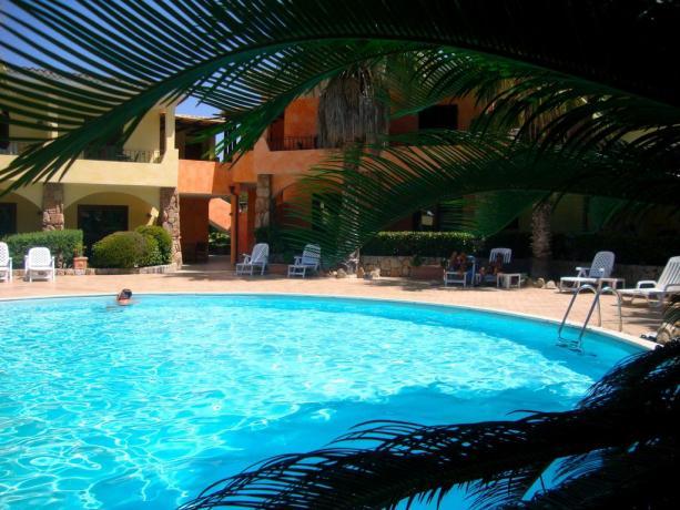 Residence appartamenti vacanza a palau con piscina a palau - Residence con piscina sardegna ...