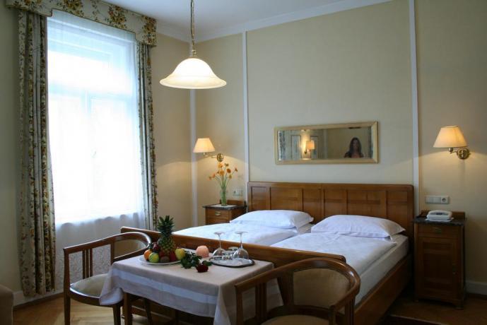Camere spaziose e luminose Hotel Merano
