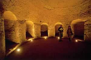 Visit the grotta sant´arcangelo in colle giove