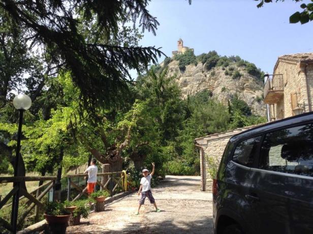 Villa vicino alla Montagna nelle Marche