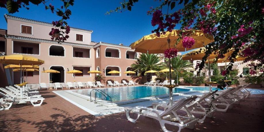 Piscina Residence in Sardegna a Orosei