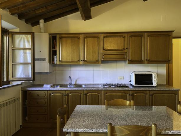 IlFienile- Cucina moderna xperiodo Relax in Coppia