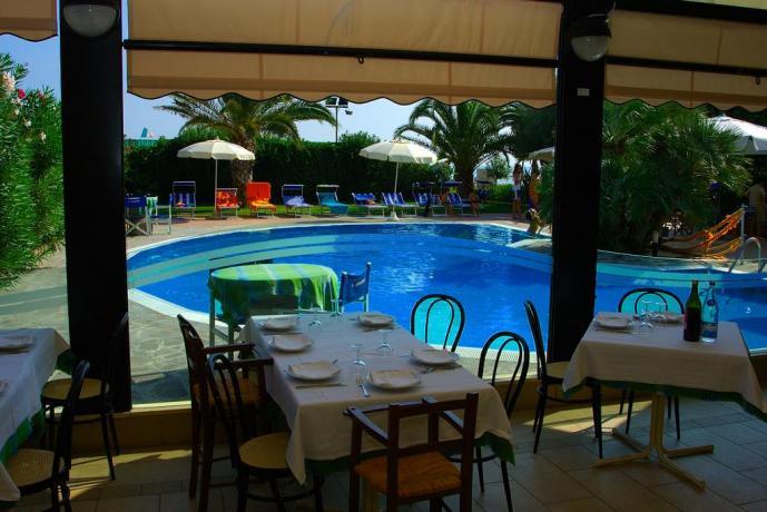Hotel in Abruzzo con ristorante e piscina, spiaggia