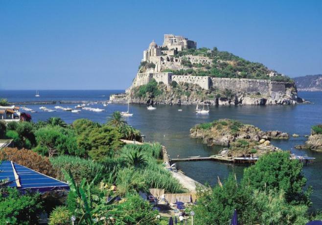 Castello Aragonese nell'Isola di Ischia
