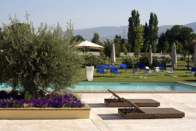 Piscina in Resort a Spoleto