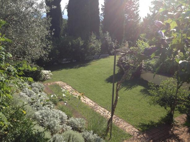Agriturismo in Umbria con ampio giardino