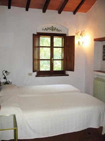 Camera 2 persone con finestra panoramica casale-rustico Lago-Trasimeno