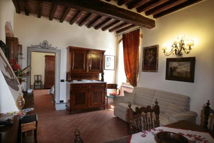 Appartamento Girasole 4persone cucina Arezzo
