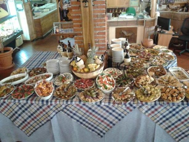 ristorante in gazebo, sala banchetti roma