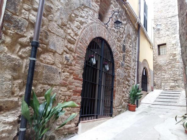 Il centro storico di Acquasparta