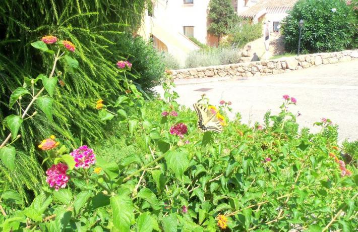 Albergo con giardino vicino Porto Cervo