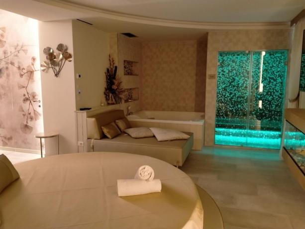 SPA Suite con Vasca Idromassaggio e Bagno Turco