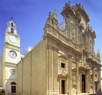 Stay near the Cathedral of Sant'Agata in Gallipoli