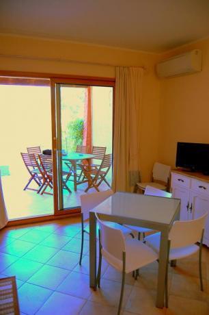 Appartamenti in Sardegna con portico