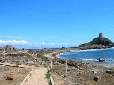 visit the archaeological site of Nora