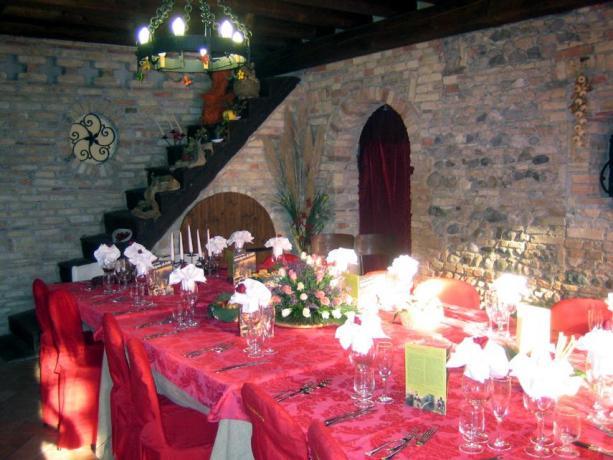 Organizzazione di cerimonie nell'albergo di Rivignano