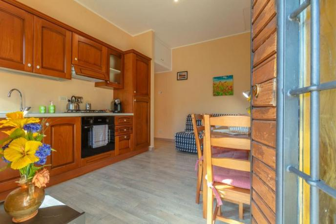 Appartamenti con ampio angolo cucina