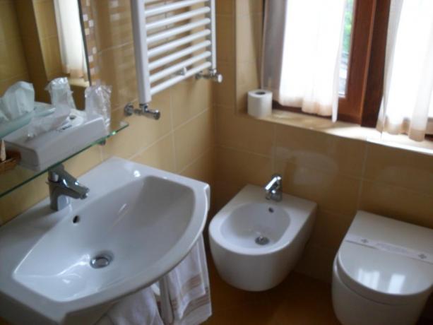 Hotel ad Abetone con bagno privato in camera