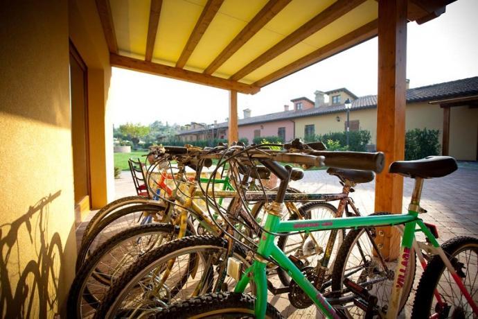 Posto bici, cicloturismo, agriturismo nelle Marche