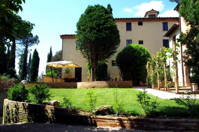 Casale per Vacanza per Gruppi Arezzo Toscana