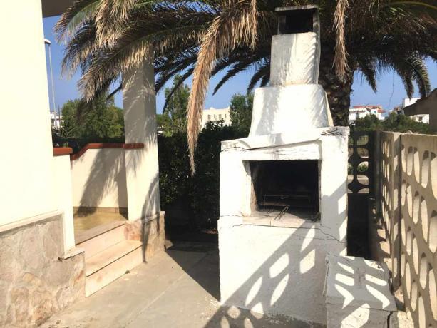 Villa Vacanze sul Gargano con Barbecue