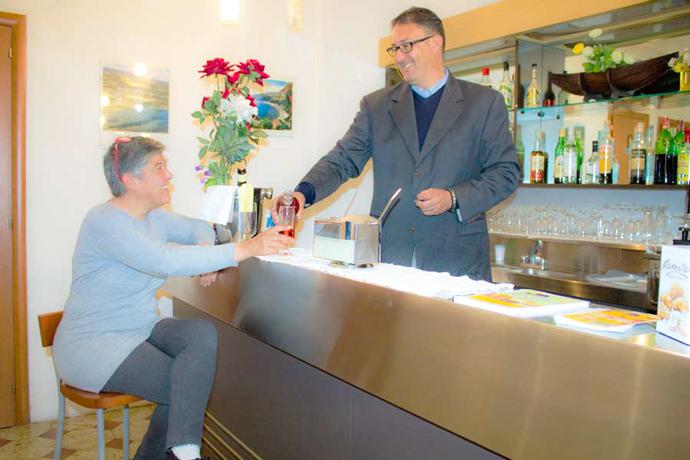 Bar ad Acquappesa in Hotel