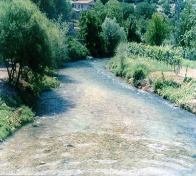 Il percorso del fiume