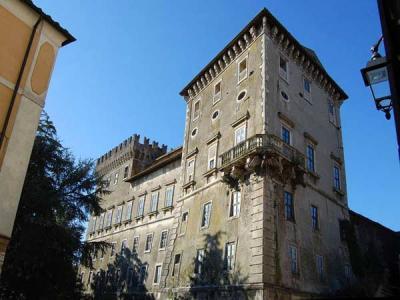 Villetta vicino al Castello di Giove