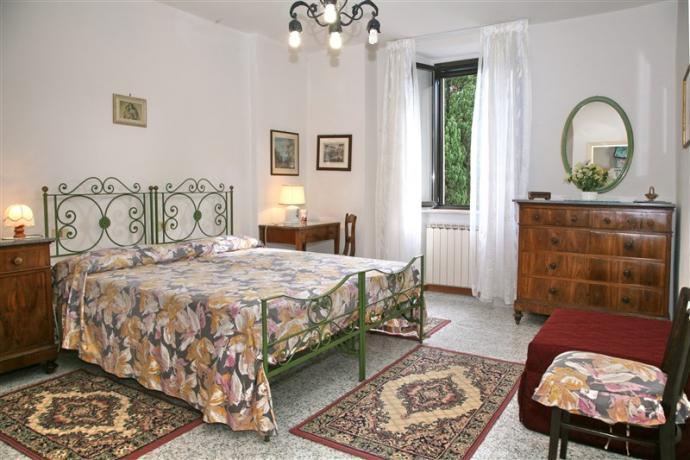 Camera matrimoniale appartamento Pioppi