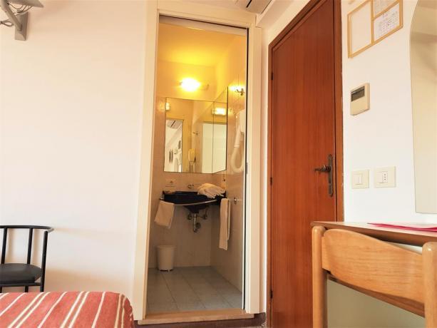 Appartamenti con ampio bagno Lungomare Misano