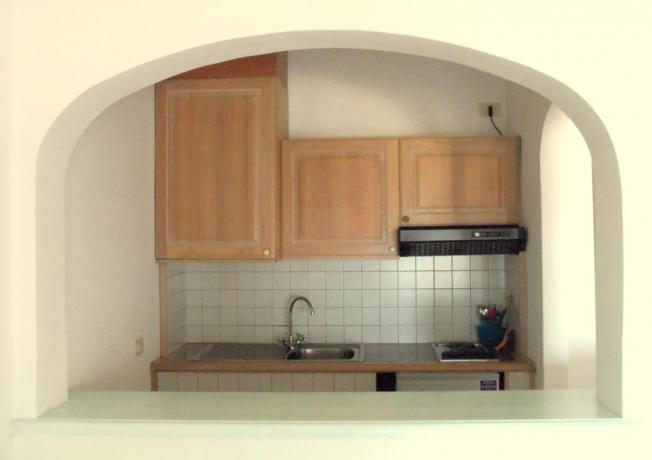 Cucina in appartamento residence in Costa Smeralda