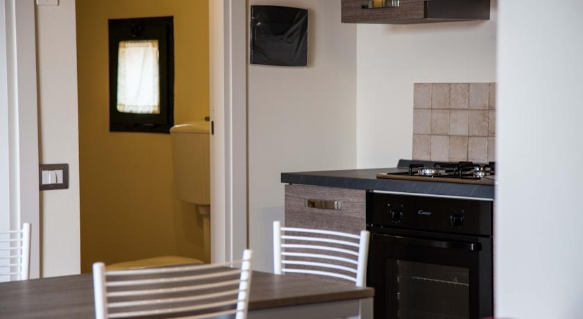 Appartamenti con cucina nella Campagna Toscana