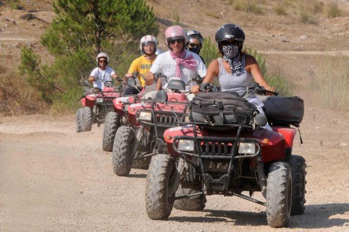 Noleggio Quad in Resort nelle Colline Toscane