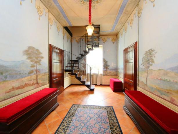 soggiorno della Villa Vacanze in Umbria