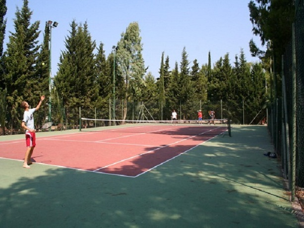 Campo tennis residence Marina di Mancaversa