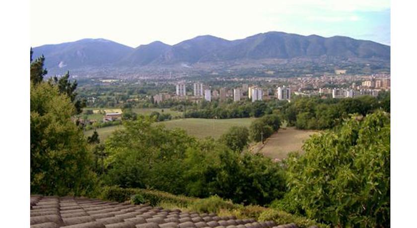 prospettiva panoramica casa vacanze Terni