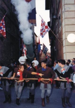 Cannone d'epoca