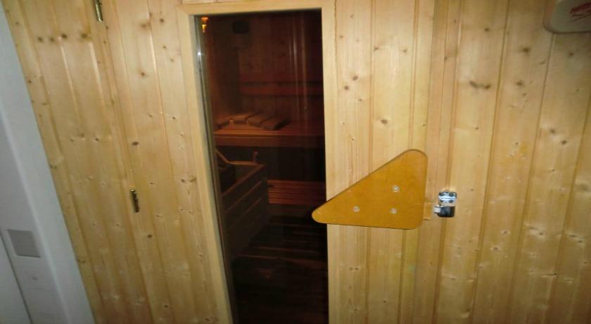 Sauna privata per gli ospiti