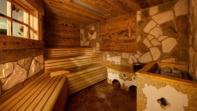 Sauna in Hotel trentino alto adige