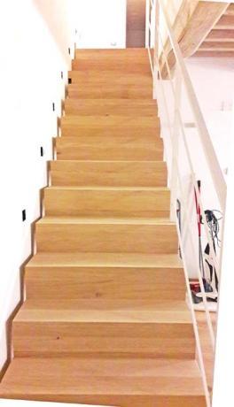 s91- scala in legno progettazione e realizzazione