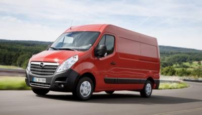 Noleggio furgone euro5 OPEL MOVANO 2.3Cdti Qli33 L2h2