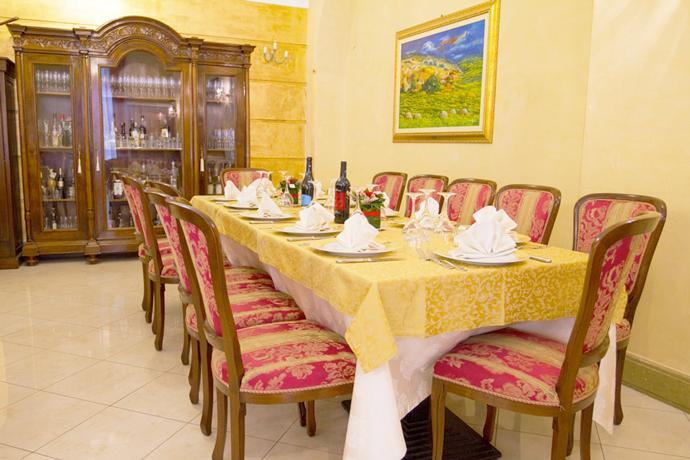 Sala ristorante Albergo ad Alcamo