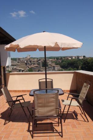 Mansarda terrazza residence a Ronciglione